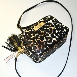 VS Leopard Print Small Crossbody Bag